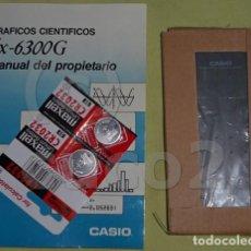 Coleccionismo: CALCULADORA,CASIO,FX,6300,G,GRAFICA,CIENTIFICA. Lote 141595934