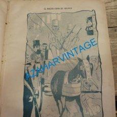 Coleccionismo: SEVILLA, 1902, CARICATURA EL NUEVO CURA DE GELVES,FIRMADA POR MANOLO, 21X30 CM. Lote 142127022