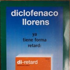 Coleccionismo: FOLLETO PUBLICIDAD FARMACÉUTICA DIPTICO 1980. Lote 142134706