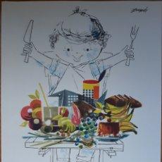 Coleccionismo: FOLLETO PUBLICIDAD LABORATORIOS FARMACÉUTICOS BIOHORN BARCELONA 1970S. Lote 142142281
