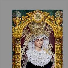 Coleccionismo: AZULEJO 40X25 DE MARÍA SANTÍSIMA DEL BUEN FIN DE SEVILLA (COFRADÍA DE LA LANZADA). Lote 142239118