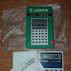 Coleccionismo: CALCULADORA CANON LC 34. Lote 142396858