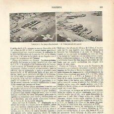 Coleccionismo - LAMINA ESPASA 4740: Playa de Las Arenas de Valencia - 142520321
