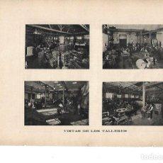Coleccionismo: AÑO 1919 PUBLICIDAD ANUNCIO TALLER HIJOS DE DIONISIO ESCORSA FUNDICION HIERRO ACEROS MOLDEADOS. Lote 142587262