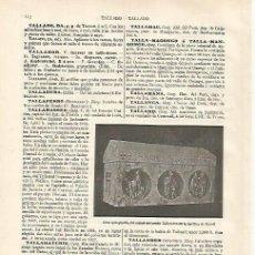 Coleccionismo: LAMINA ESPASA 31131: URNA DEL CONDE TALLAFERRO EN RIPOLL. Lote 142597030