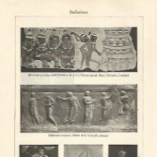 Coleccionismo - LAMINA ESPASA 30735: Bailarinas - 142680469