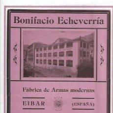 Coleccionismo: AÑO 1927 PUBLICIDAD BONIFACIO ECHEVARRIA EIBAR FABRICA ARMAS MODERNAS PISTOLA AUTOMATICA STAR . Lote 142825890