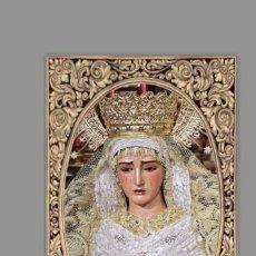 Coleccionismo: AZULEJO 40X25 DE MARÍA SANTÍSIMA DE LA O CORONADA DE SEVILLA. Lote 142867906