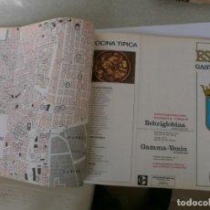 Coleccionismo: MAPAS GASTRONOMICOS DE TODAS LAS CIUDADES DE ESPAÑA DEL AÑO 1960 LAB. HOECHST. Lote 143157978