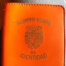 Coleccionismo: CARTILLA PARA DOCUMENTO NACIONAL DE IDENTIDAD CON PUBLICIDAD . Lote 143246846