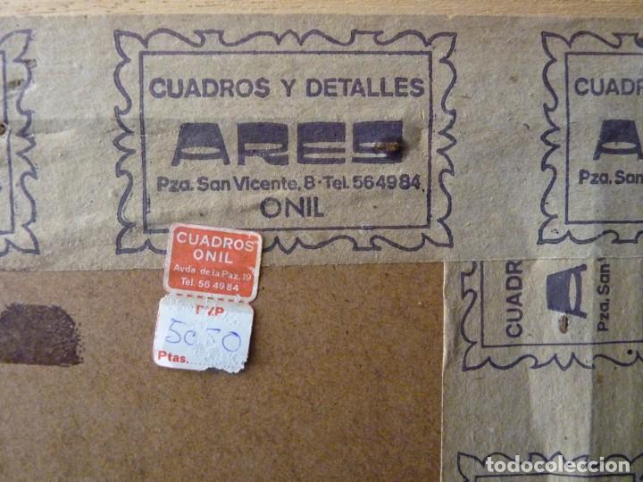 Coleccionismo: LOTE DE 3 CUADROS CON LÁMINAS DE DISNEY. MICKEY, DONALD, GOOFY. MARCOS 40x30 cm. AÑOS 60 - Foto 6 - 143282974