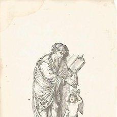 Coleccionismo: LAMINA 11576: EL EVANGELISTA SAN MATEO. Lote 143340966