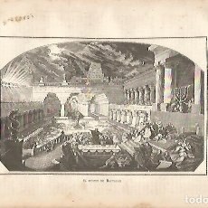 Coleccionismo: LAMINA 11579: EL FESTIN DE BALTASAR. Lote 143341137