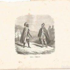 Coleccionismo: LAMINA 11553: ANIBAL Y ESCIPION. Lote 143341429