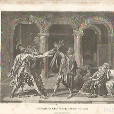 Coleccionismo: LAMINA 11555: LOS HORACIOS JURAN VENCER O MORIR POR ROMA. Lote 143341550