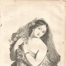 Coleccionismo: LAMINA 11556: LA DIOSA ROMANA FLORA. Lote 143341714