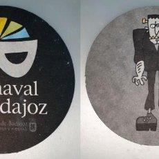 Coleccionismo: POSAVASOS CARNAVAL DE BADAJOZ 2007. Lote 143354742