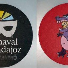 Coleccionismo: POSAVASOS CARNAVAL DE BADAJOZ 2007. Lote 143354750