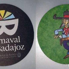Coleccionismo: POSAVASOS CARNAVAL DE BADAJOZ 2007. Lote 143354758