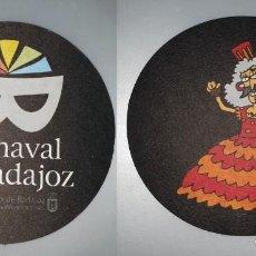 Coleccionismo: POSAVASOS CARNAVAL DE BADAJOZ 2007. Lote 143354766