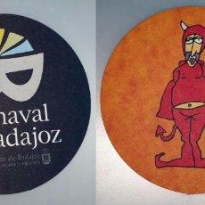 Coleccionismo: POSAVASOS CARNAVAL DE BADAJOZ 2007. Lote 143354798