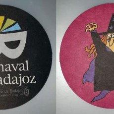 Coleccionismo: POSAVASOS CARNAVAL DE BADAJOZ 2007. Lote 143354870