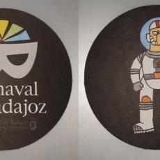 Coleccionismo: POSAVASOS CARNAVAL DE BADAJOZ 2007. Lote 143354874