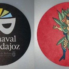 Coleccionismo: POSAVASOS CARNAVAL DE BADAJOZ 2007. Lote 143354882