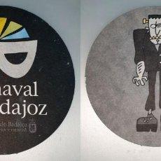 Coleccionismo: POSAVASOS CARNAVAL DE BADAJOZ 2007. Lote 143354898