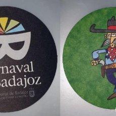 Coleccionismo: POSAVASOS CARNAVAL DE BADAJOZ 2007. Lote 143355014