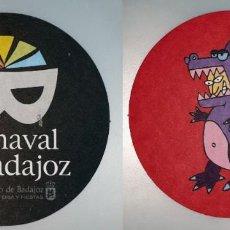 Coleccionismo: POSAVASOS CARNAVAL DE BADAJOZ 2007. Lote 143355018