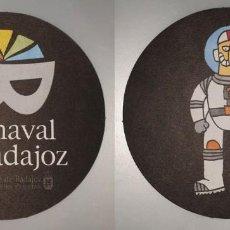 Coleccionismo: POSAVASOS CARNAVAL DE BADAJOZ 2007. Lote 143355038