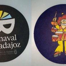 Coleccionismo: POSAVASOS CARNAVAL DE BADAJOZ 2007. Lote 143355042