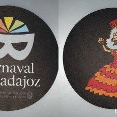 Coleccionismo: POSAVASOS CARNAVAL DE BADAJOZ 2007. Lote 143355054