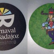Coleccionismo: POSAVASOS CARNAVAL DE BADAJOZ 2007. Lote 143355066