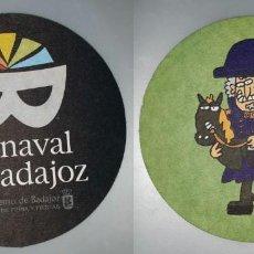 Coleccionismo: POSAVASOS CARNAVAL DE BADAJOZ 2007. Lote 143355090