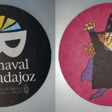 Coleccionismo: POSAVASOS CARNAVAL DE BADAJOZ 2007. Lote 143355102