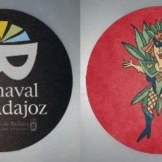 Coleccionismo: POSAVASOS CARNAVAL DE BADAJOZ 2007. Lote 143355114
