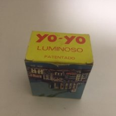 Colecionismo: YO-YO LUMINOSO PATENTADO YO YO. Lote 143408262
