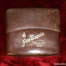 Coleccionismo: ANTIGUA PITILLERA PURERA PUBLICIDAD FINO PAQUIN F. CARRASCO Y HERMANO JEREZ. Lote 143547350