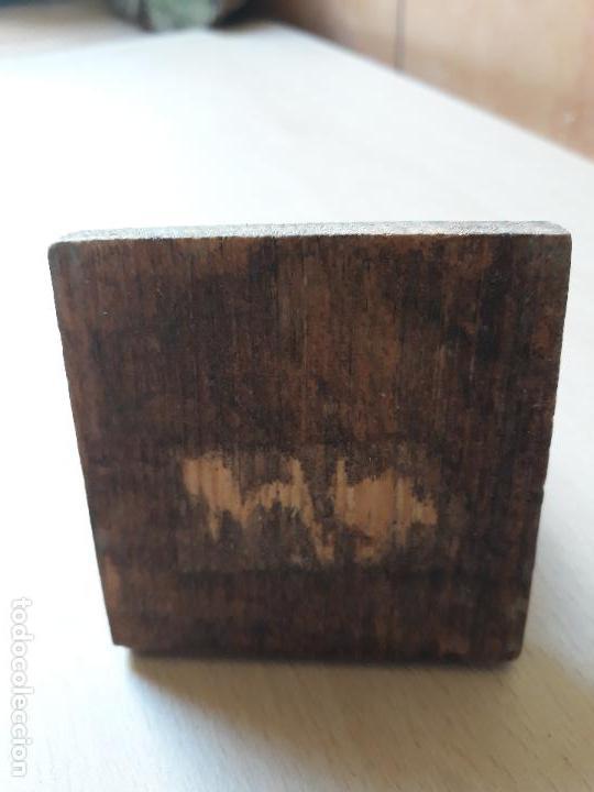Coleccionismo: Antiguo palillero- barril tonel bota de vino de madera - Foto 3 - 143620874