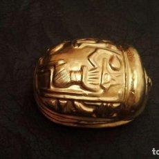 Coleccionismo: ESCARABAJO DEL ANTIGUO EGIPTO AMULETO. Lote 143839858