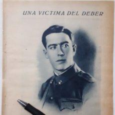 Coleccionismo: UNA VÍCTIMA DEL DEBER. JOSÉ HERREROS ABAD./ EL IDILIO ROTO. JOSÉ HERREROS ABAD. 1934. Lote 143942928