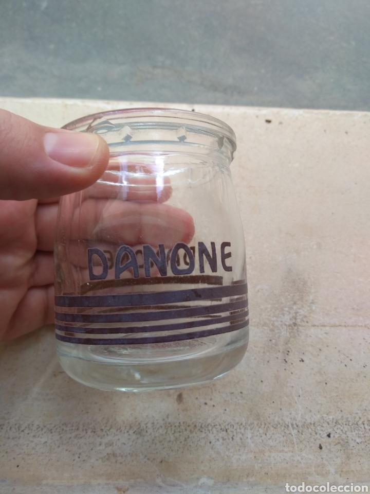 Coleccionismo: Antiguo Vaso - Tarro de Danone - Foto 2 - 144110096