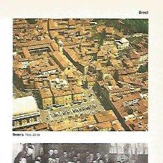 Coleccionismo: LAMINA 11177: VISTA AEREA DE BRESCIA ITALIA. Lote 141875316