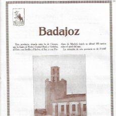 Coleccionismo: AÑO 1927 RECORTE PRENSA FOTOGRAFIA BADAJOZ TORRE DE ESPANTAPERROS MONUMENTO NACIONAL. Lote 144982746