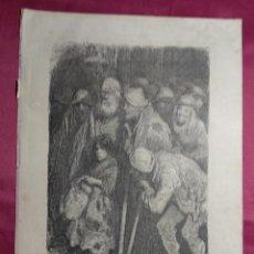 Coleccionismo: GRABADO.MENDIGOS DE BURGOS . VIAJE POR ESPAÑA. 1878. Lote 145190354
