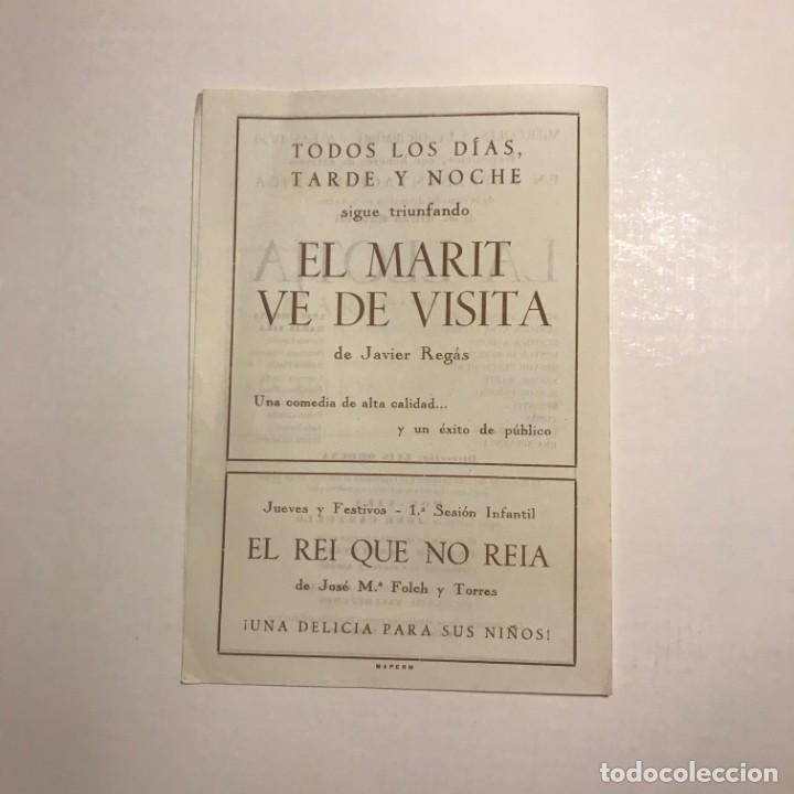 Teatro Romea. Programa de mano. Segunda función del Abono al Ciclo de Reposiciones. 1951 - 145209670