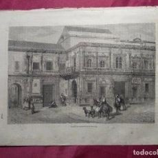 Coleccionismo: GRABADO. CASAS CONSISTORIALES DE SEVILLA . VIAJE POR ESPAÑA. 1878. Lote 145211702