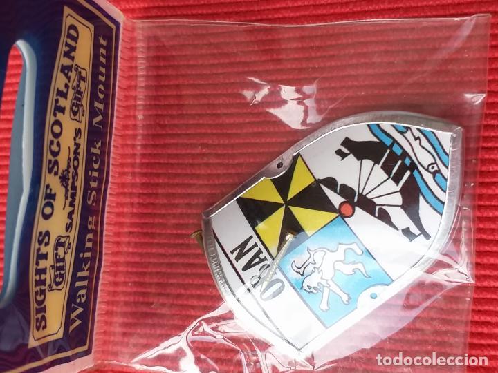 Coleccionismo: Escudo insignia DE LA CIUDAD DE OBAN. ESCOCIA. REINO UNIDO. - Foto 4 - 145218382